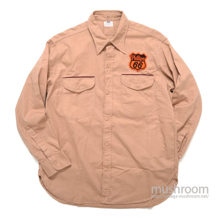 Lee HBT WORK SHIRT( 16-SHORT/MINT )