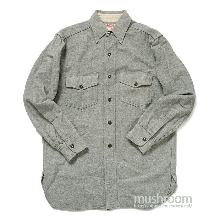 THE SPAIDE SHIRT WOOL WORK SHIRT( MINT )