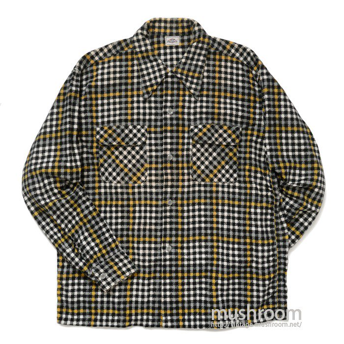 OLD FAITHFUL PLAID FLANNEL SHIRT( MINT )