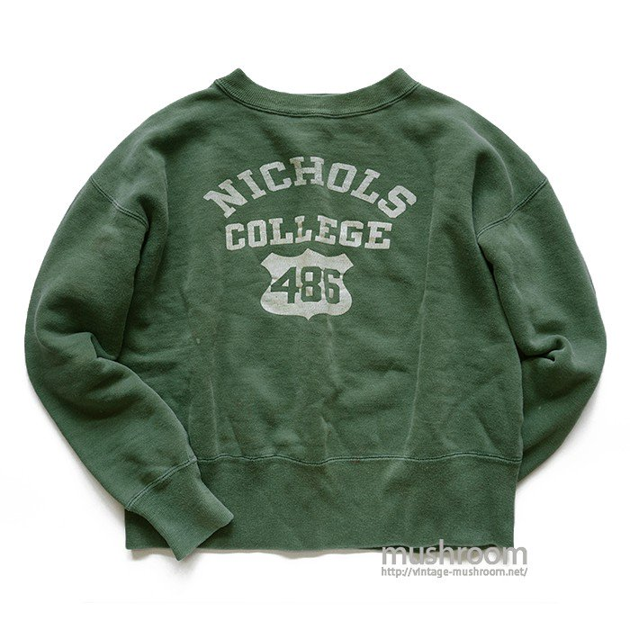 CHAMPION NICHOLS COLLEGE SWEAT SHIRT