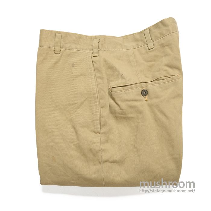 OLD TAPERED CHINO TROUSER