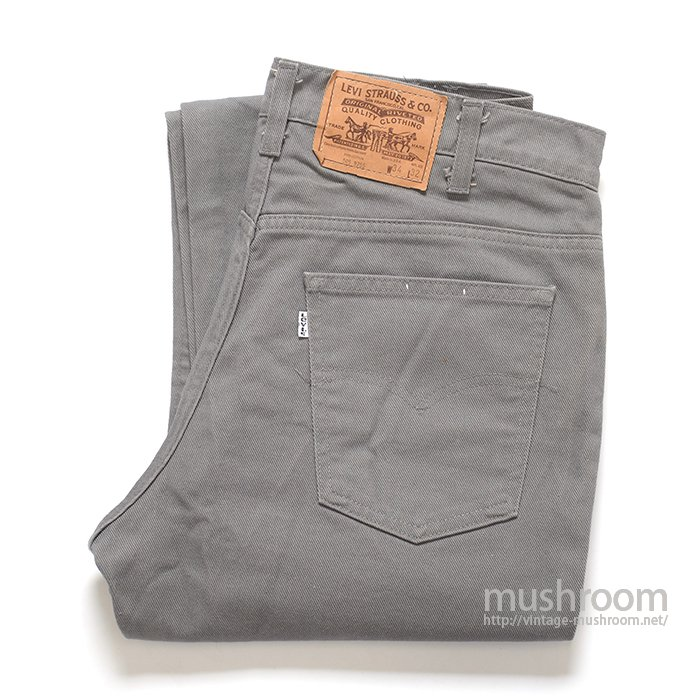 LEVI'S 509 COTTON TWILL PANTS(34/32/MINT )