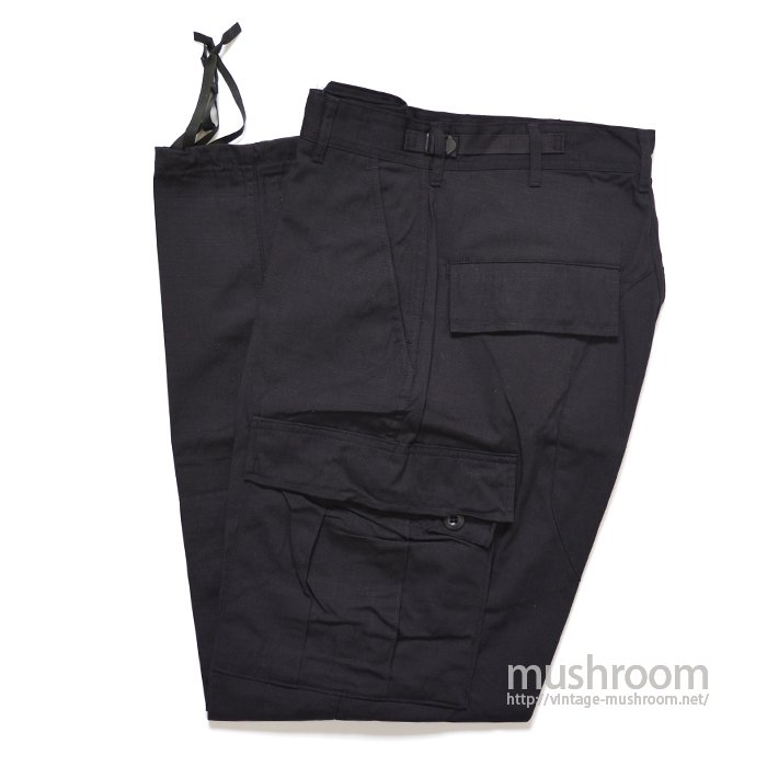 U.S.MILITARY BLACK 357 BDU PANTS( S-R/DEADSTOCK )