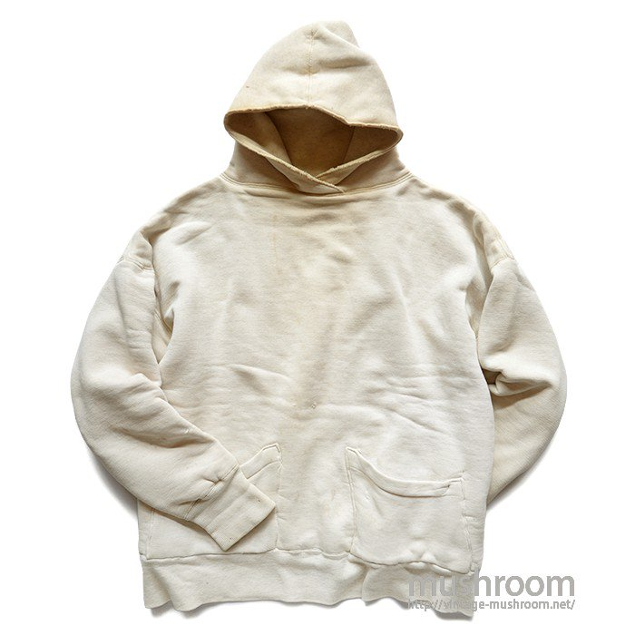 SPORTSWEAR DOUBLE FACE SWEAT HOODY WITH STENCIL