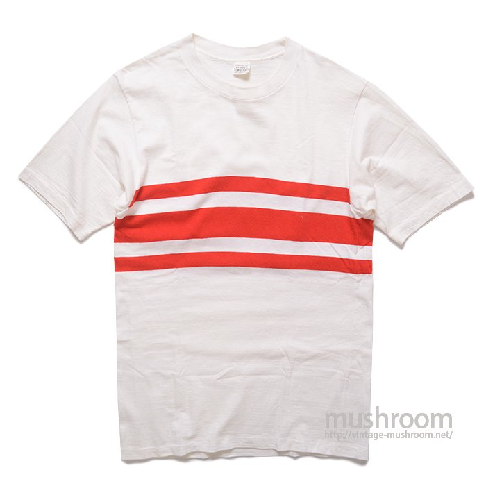 TOWNCRAFT BORDER  STRIPE T-SHIRT