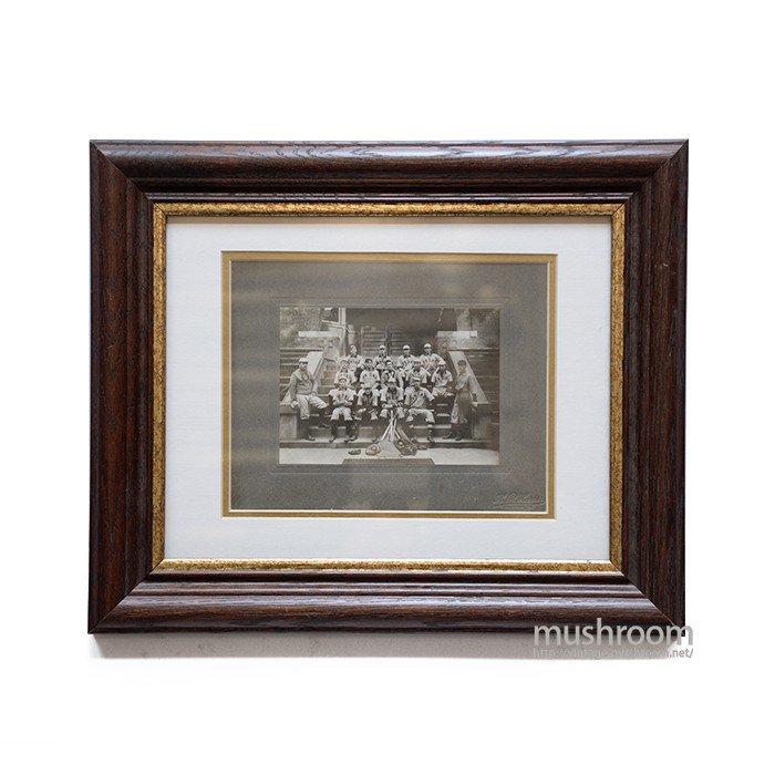 OLD BASEBALL TEAM GROUP PHOTO