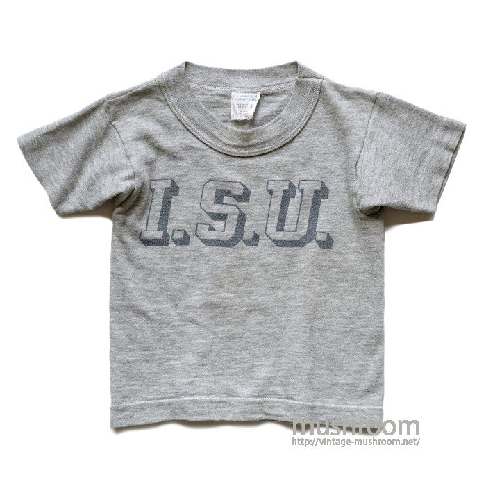 CHAMPION ISU T-SHIRT( KID'S SIZE )
