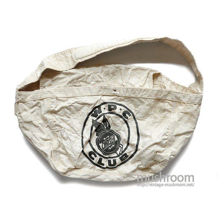 W・P・C CLUB AVERTISING PAPERBOY BAG( MINT )