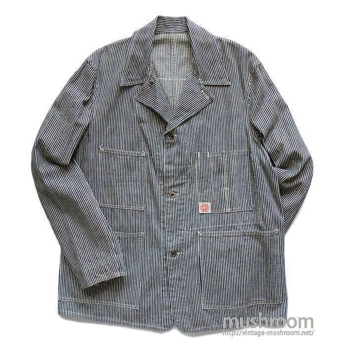 WW2 HEAD LIGHT HICKORY COVERALL( MINT )