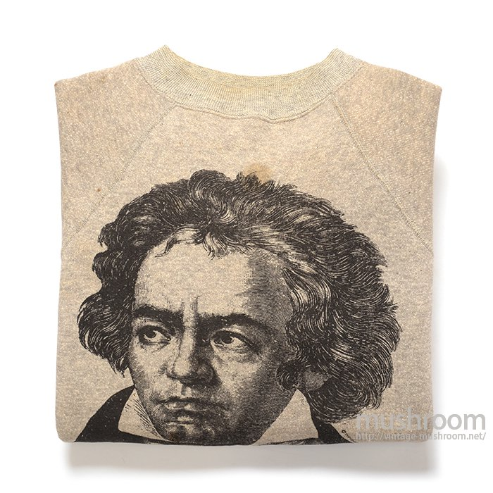 BEETHOVEN PRINT SWEAT SHIRT( DEADSTOCK )