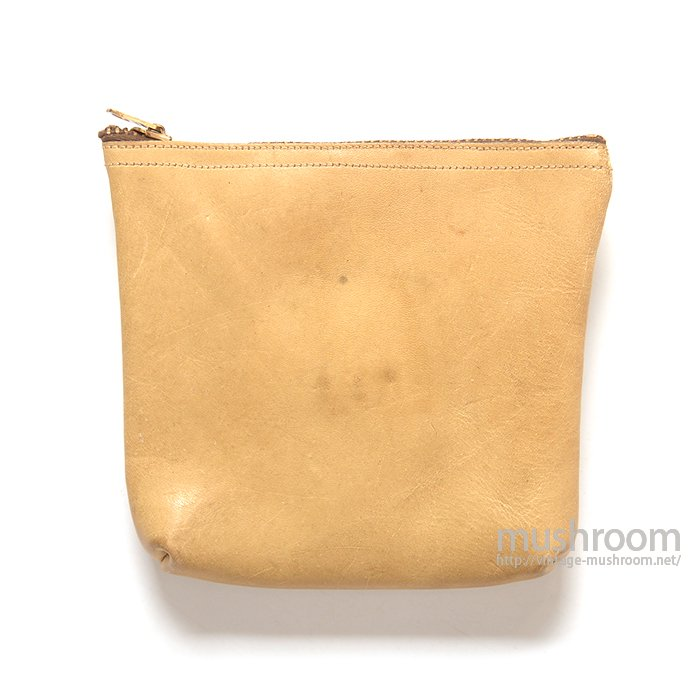 L.L.BEAN FISHING LEATHER PURSE( DEADSTOCK OR MINT )