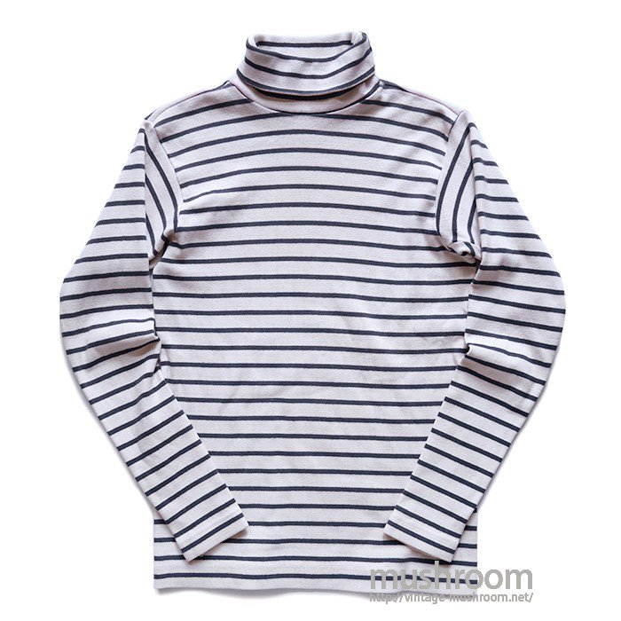 PATAGONIA TURTLE-NECK BORDER STRIPE SHIRT