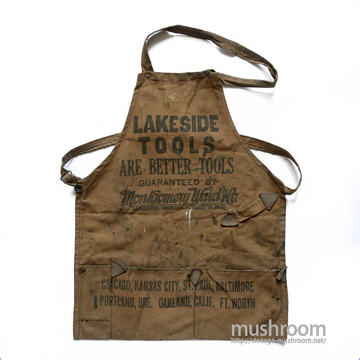 MONTOGOMERY WARD CANVAS WORK APRON
