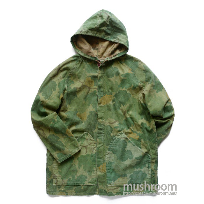 MITHELL CAMO PATTERN REVERSIBLE COTTON PARKA