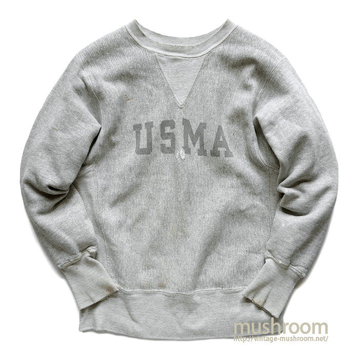 CHAMPION USMA REVERSE WEAVE( S/ONE-COLOR TAG )