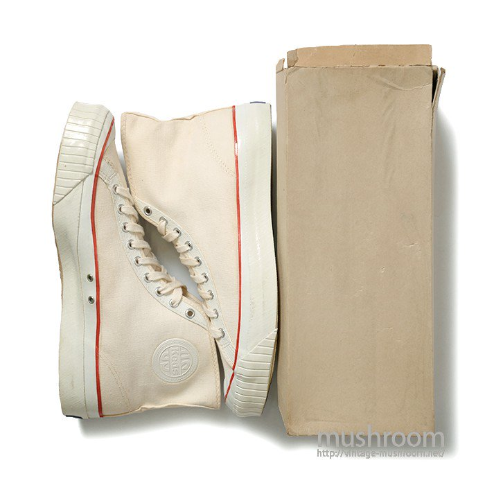 U.S KEDS CANVAS ATHLETIC SHOES( 12/DEADSTOCK )