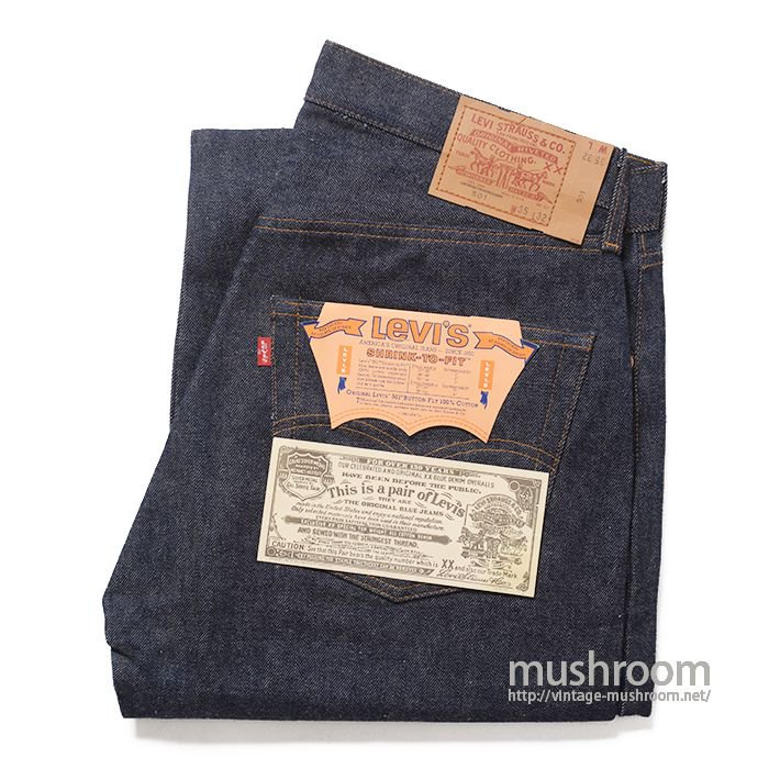 LEVI'S 501 RED LINE JEANS( W35/L32/DEADSTOCK )