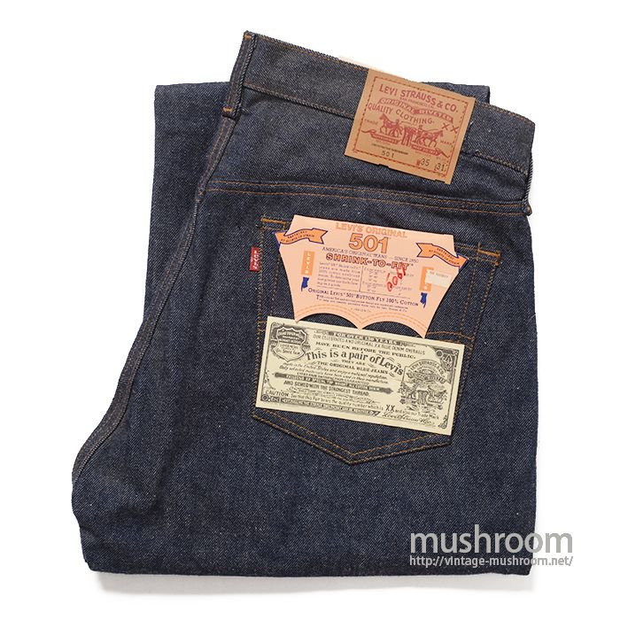 LEVI'S 501 RED LINE JEANS( W35/L31/DEADSTOCK )