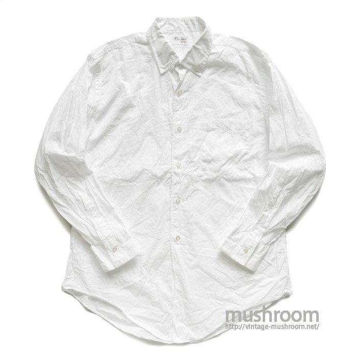 ROOS ATKINS WHITE COTTON SHIRT( 15H-2/MINT )