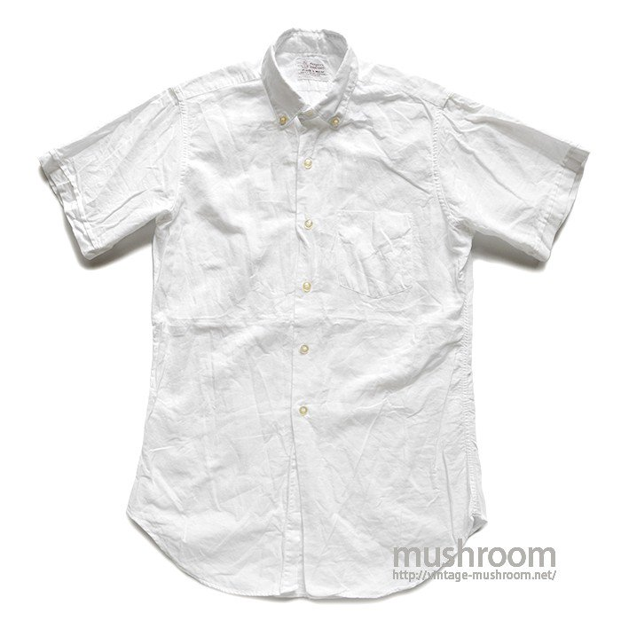 PENNEY'S WHITE COTTON S/S SHIRT( 15/MINT )