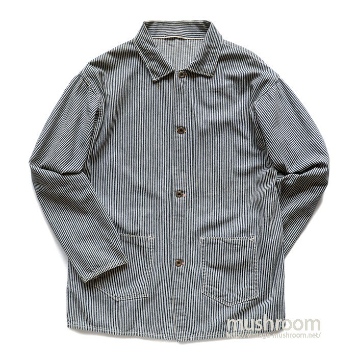 WW2 UNKNOWN HICKORY STRIPE COVERALL