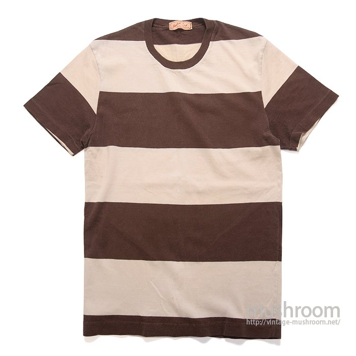 JANTZEN WIDE BORDER  STRIPE T-SHIRT