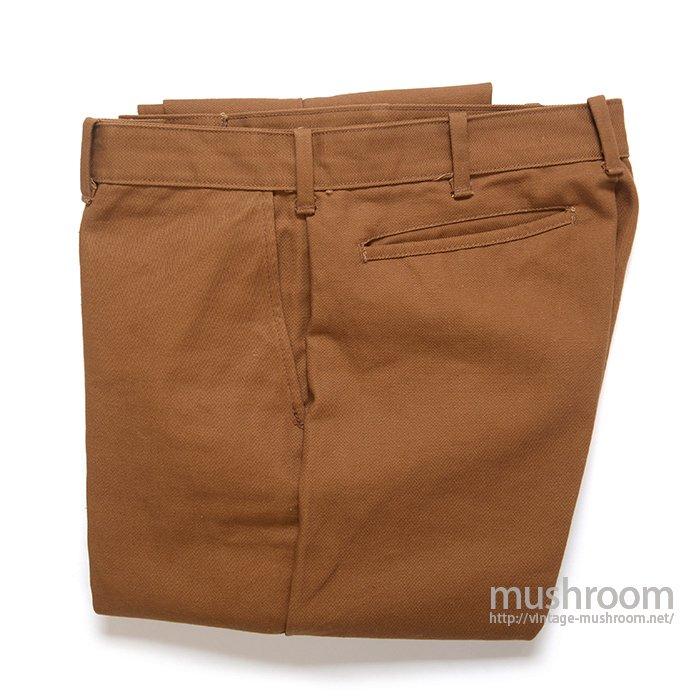 VANDERBILT TAPERED COTTON PANTS( MINT )