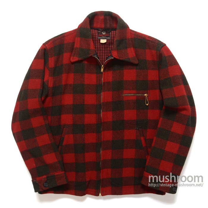 JOHNSON PLAID WOOL SPORTS JACKET