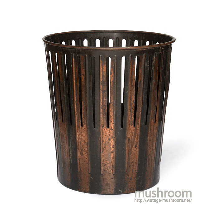 ERIE ART METAL CO. JAPAN COLOR TRASH CAN
