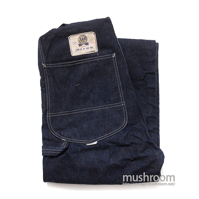 Lee 91SB DENIM OVERALL( 31-34/ONE-WASHED )