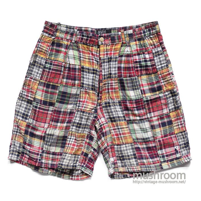 POLO BY RALPH LAUREN PATCHWORK SHORTS