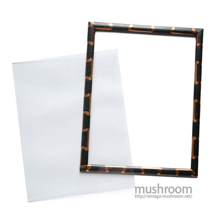 ANTIQUE JAPAN COLOR PHOTO FRAME