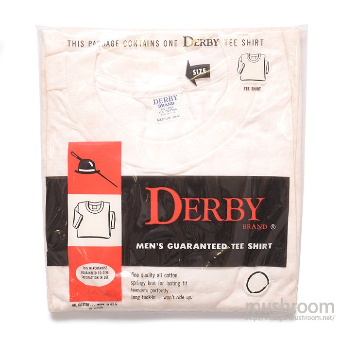DERBY PACK T-SHIRT( M/DEADSTOCK )