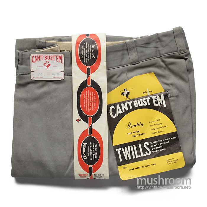 CAN'T BUST'EM COTTON WORK PANTS( W30L28/DEAD )