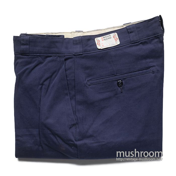 ANGUS BRAND COTTON WORK PANTS( W32L30/DEAD )