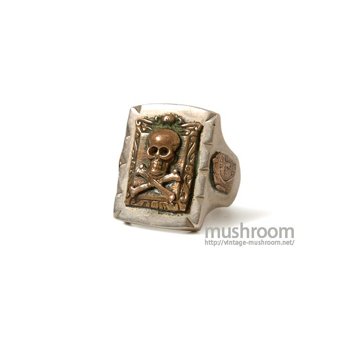 OLD MEXICO SKULL RING