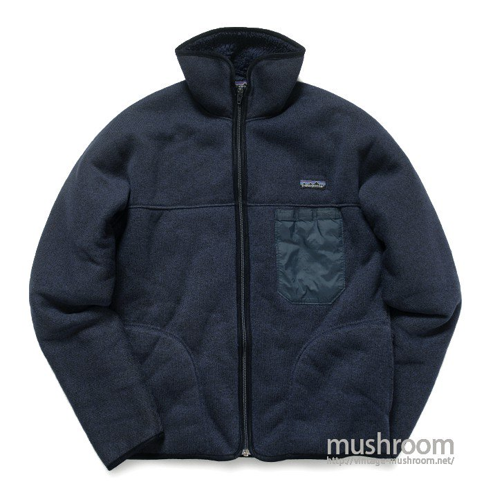 PATAGONIA FULL-ZIP PILE JACKET( M/MINT )
