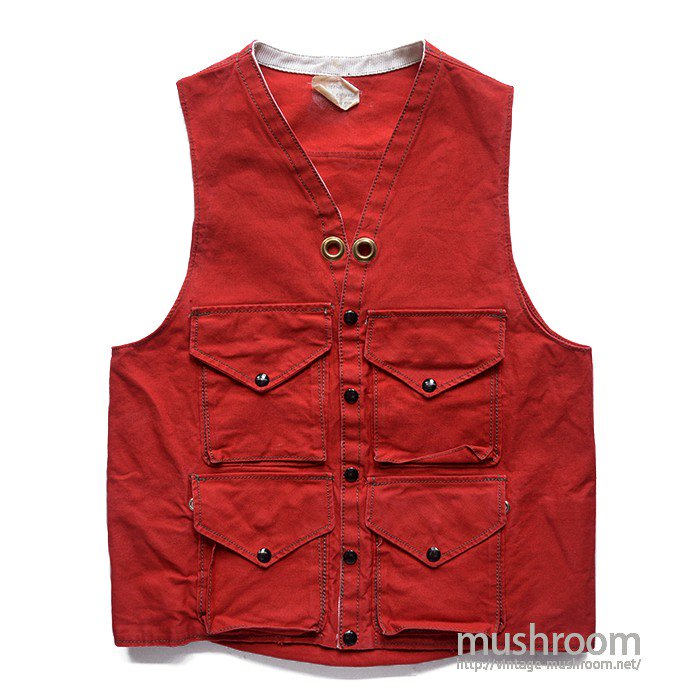 OLD CANVAS OUTDOOR VEST