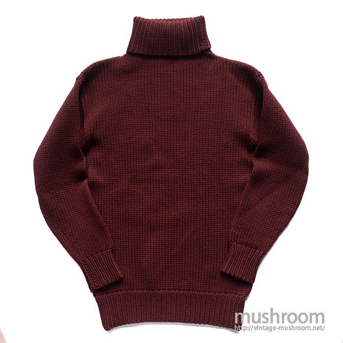 SPALDING TURTLE NECK SWEATER