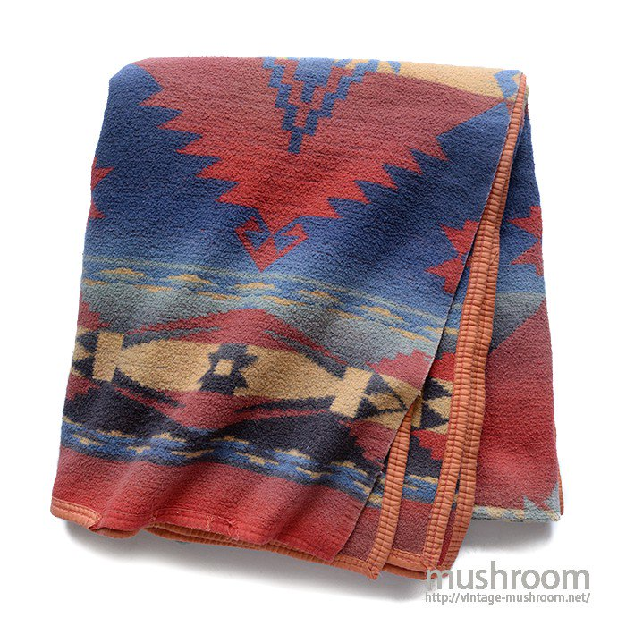 BEACON NATIVE-PATTERN COTTON BLANKET