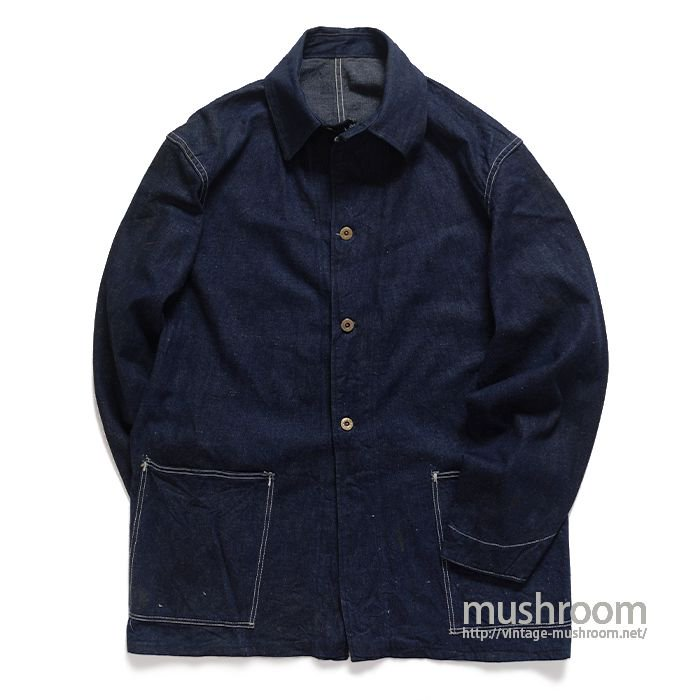 WW2 UNKNOWN TWO-POCKET DENIM COVERALL( DEADSTOCK )