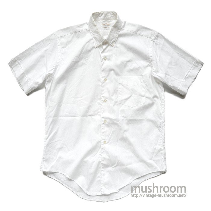 LOAD DRAKE WHITE COTTON S/S SHIRT
