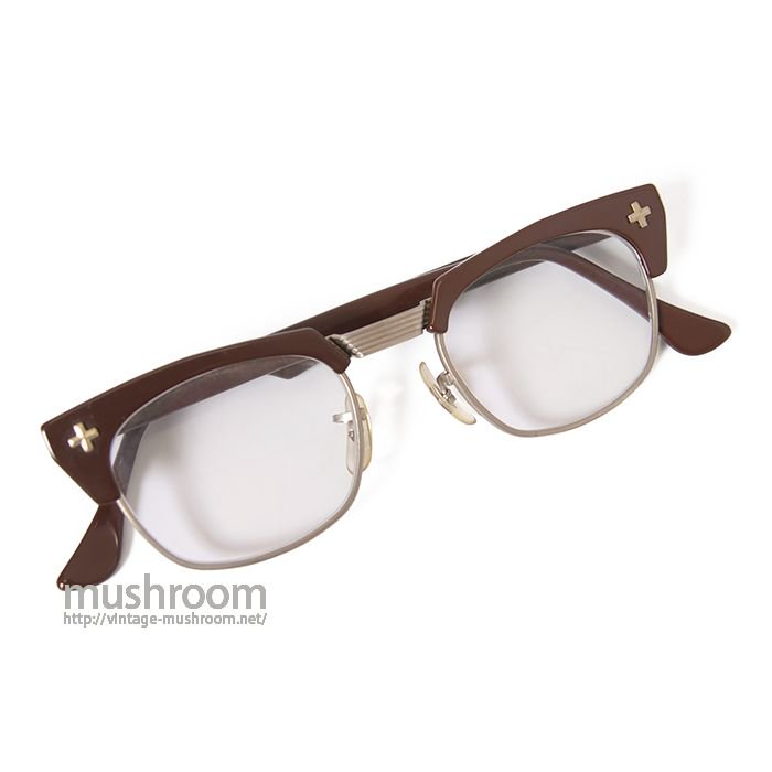 B&L SAFTY GLASSES( CROSS/46-20 )