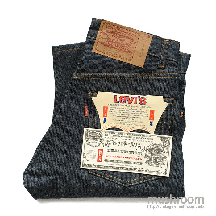 LEVI'S 505-0217 JEANS( W31/L30/DEADSTOCK )