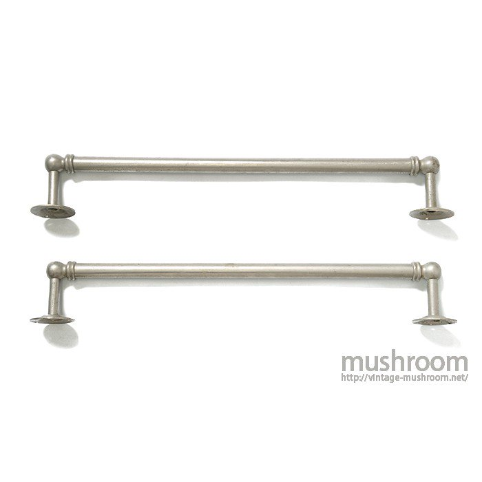 ANTIQUE Nickel TOWEL BAR 2SET