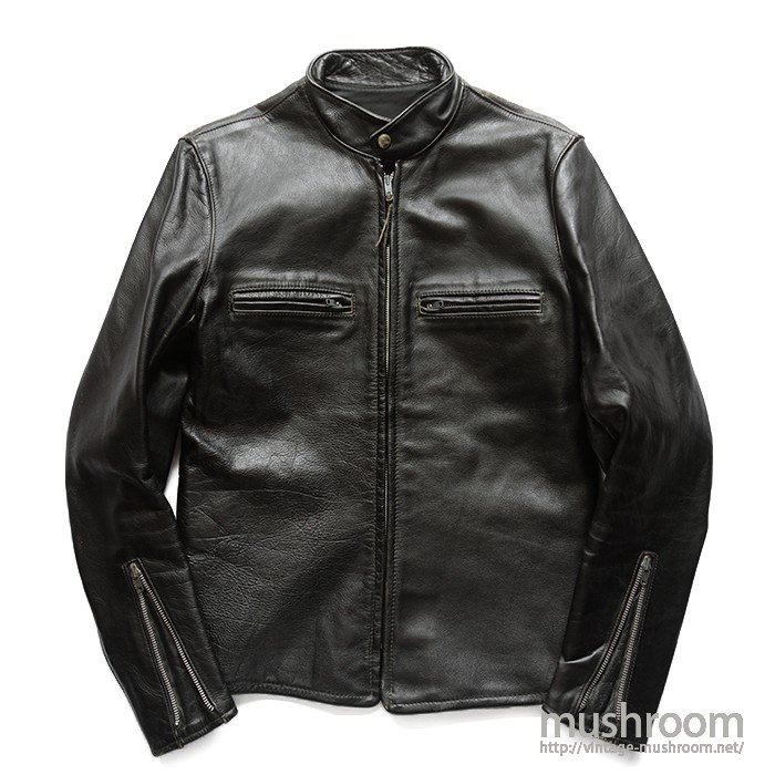 BUCO J-100 CAFE RACER LEATHER JACKET( 40/MINT )