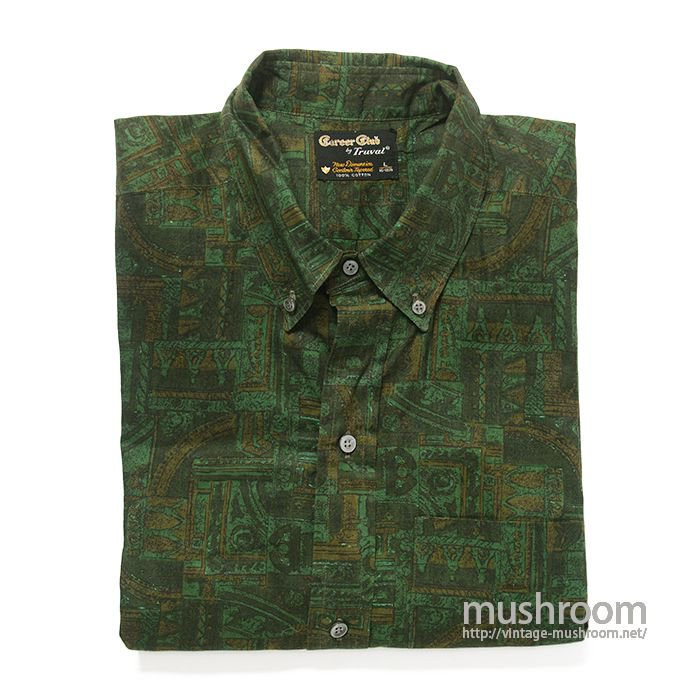 CAREER CLUB COTTON BD SHIRT( L/DEADSTOCK )