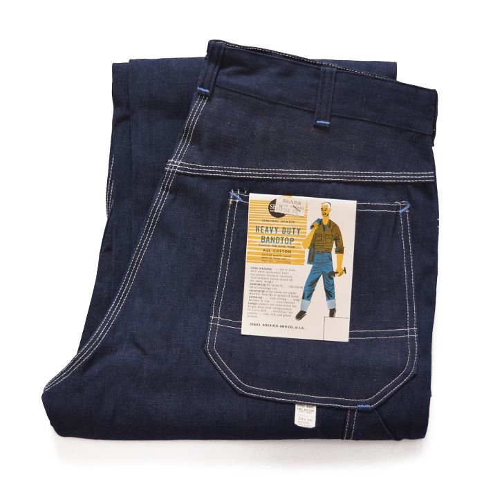 SEARS DENIM PAINTER PANTS( 34/30/DEADSTOCK )