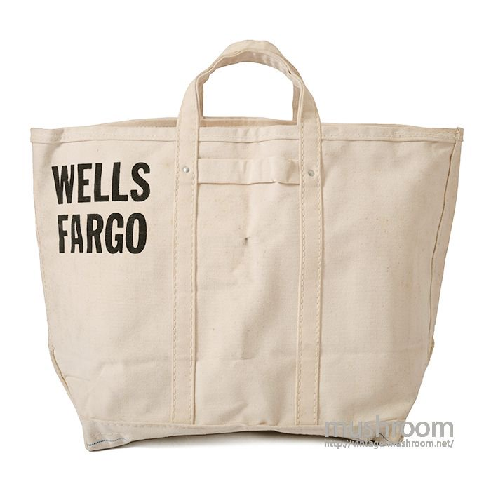 WELLS FARGO MONEY BAG( DEADSTOCK )