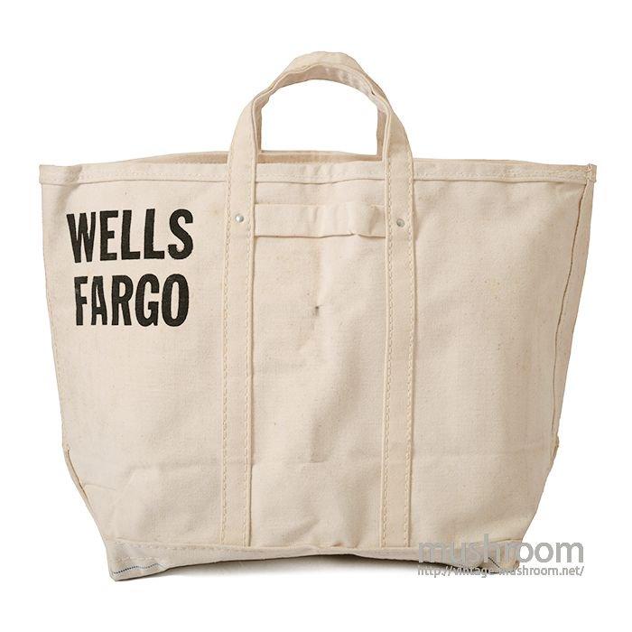 WELLS FARGO MONEY BAG( DEADSTOCK )